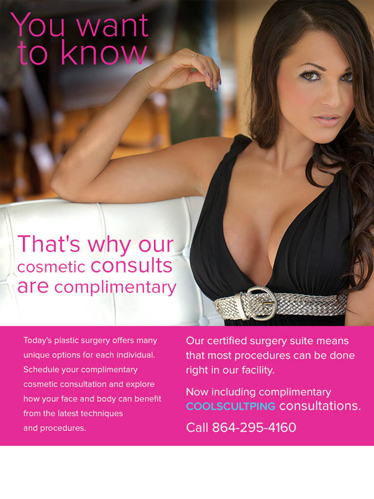 Free consultation at Plastic Surgery Consultants